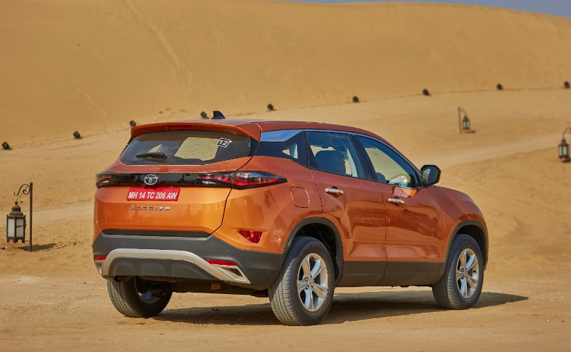 New 2019 Tata Harrier SUV: Engine, Gearbox, Safety Features and Dimensions