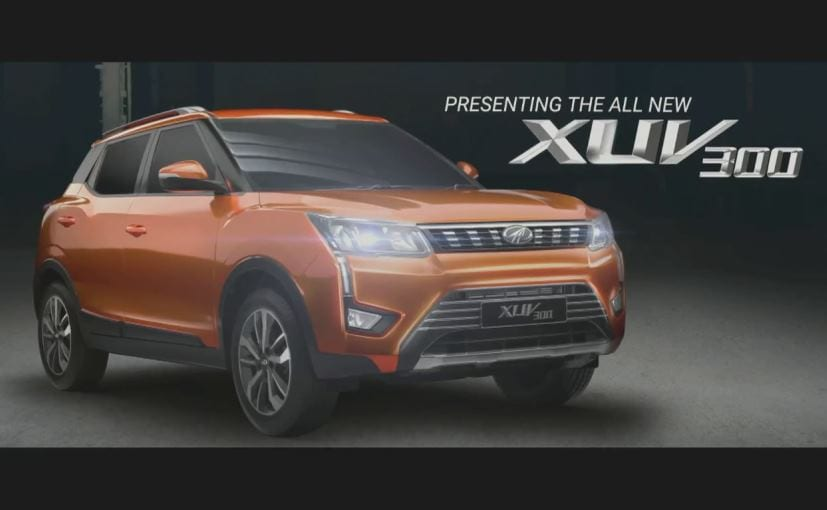 Mahindra Xuv300 Will Be The Production Name Of The S201 Subcompact