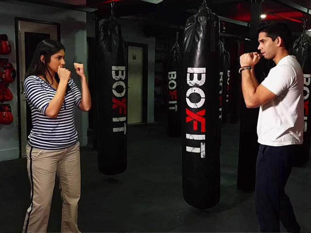 Video : Jab And Punch Away To Fitness