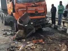 8 Killed After 50-Vehicle Pile-Up In Haryana Due To Dense Fog