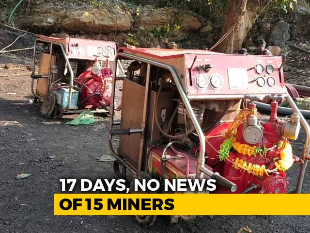 Video : Divers And Hi-Power Pumps Reach Meghalaya Mine