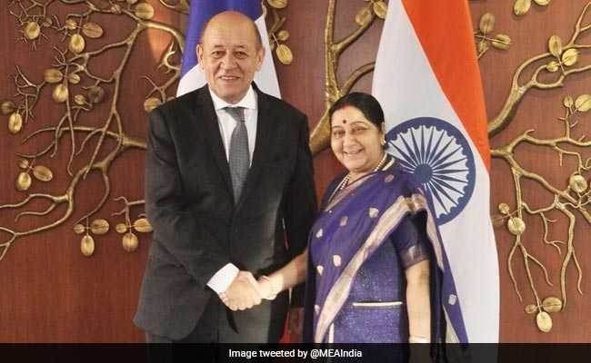 India, France Discuss Defence, Trade During Bilateral Talks