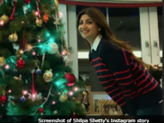 Shilpa Shetty Brings Festive Vibe To Instagram With Her 'Christmas Ready' Pic