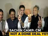 Video : Sachin Pilot's Appeal For Calm As Wait For Chief Minister Sparks Protests