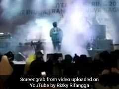 Indonesia Tsunami Rips Through Stage As Band Performs, Caught On Camera