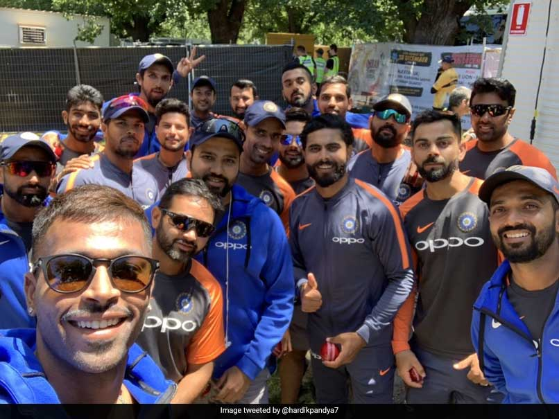 India vs Australia: Hardik Pandya Clicks