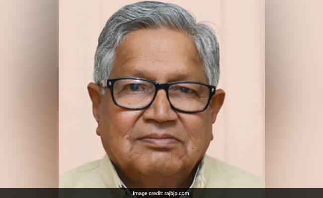 Kailash Meghwal, Oldest Unmarried Legislator, Elected By 74,542 Votes