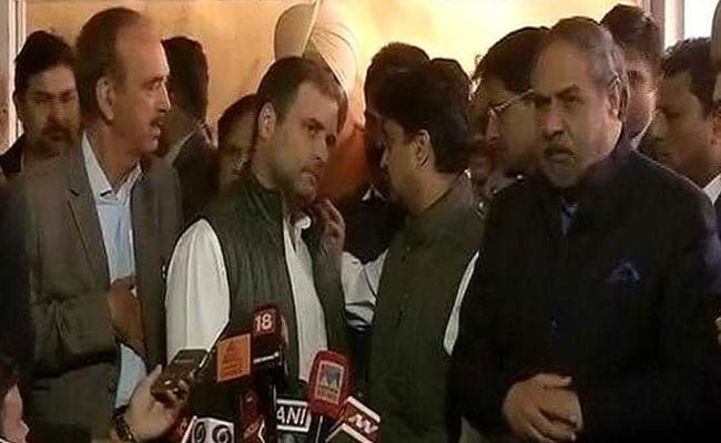 Rahul Gandhi Takes Tuition To Dream, Says Smriti Irani, On Presser Video