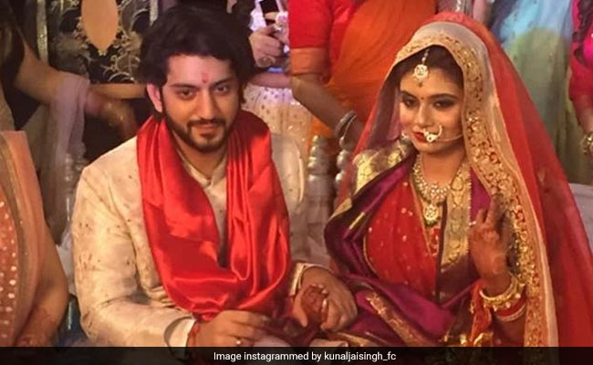 Inside Kunal Jaisingh And Bharati Kumar's Wedding Festivities