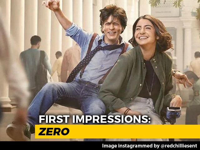 First Impressions Of SRK's Zero