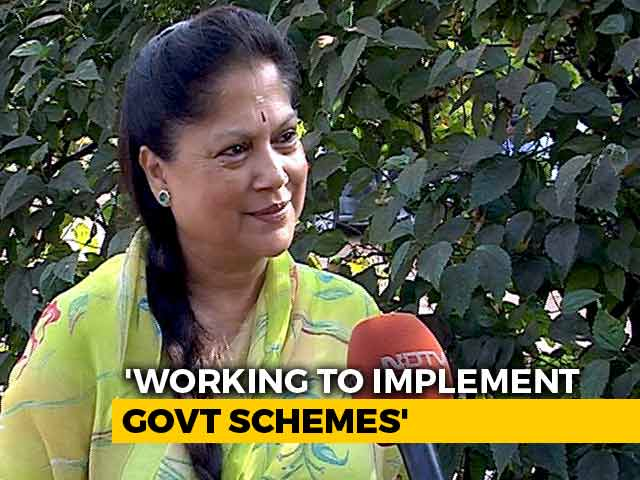 Video : Madhya Pradesh Minister Yashodhara Raje On Why BJP Deserves A 4th Term