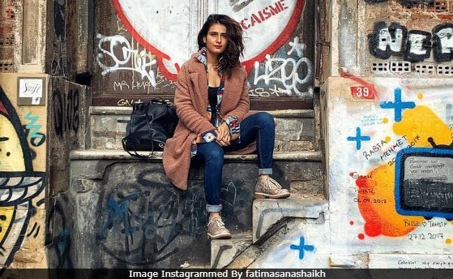 Through The Pages Of Fatima Sana Shaikh's Turkish Vacation