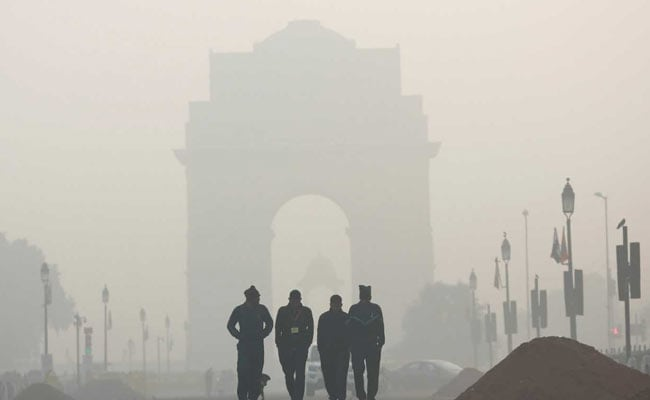 Delhi's Air Quality Recorded In ''Severe'' Category