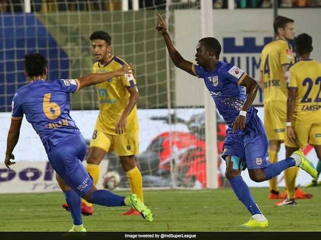 ISL: Moudou Sougou Stars As Mumbai City FC Thrash Kerala Blasters 6-1