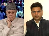 Video : When Sachin Pilot And Farooq Abdullah Met On NDTV Show