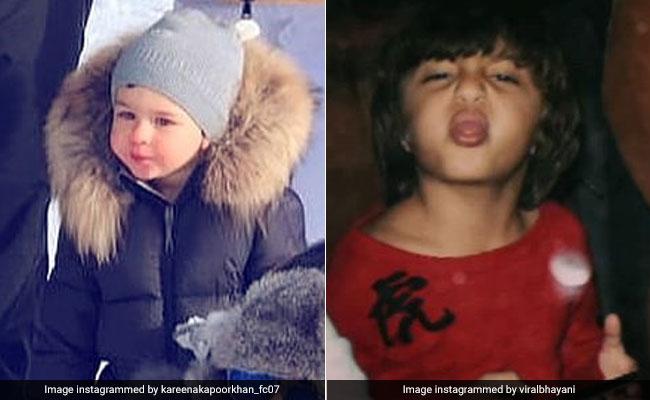 तैमूर अली खान और अबराम खान के Cute अंदाज हुए वायरल, Photo देख कहेंगे Wow!