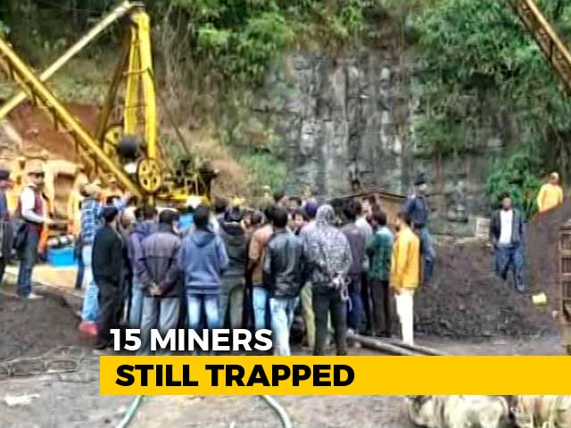 Video : Rising Water As Rescuers Hunt For Meghalaya Miners Trapped For 2 Weeks