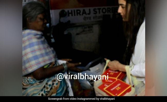 सारा अली खान के इस अंदाज ने लोगों को बनाया दीवाना, Video देख आप भी कहेंगे So Sweet