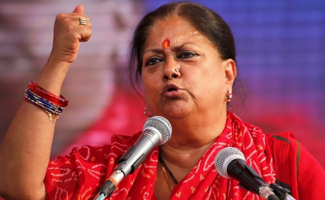Vasundhara Raje Will Have To Vacate Government Bungalow After Rajasthan Court Order