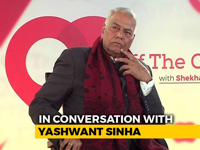 Video : Yashwant Sinha On Why He Backed Narendra Modi For PM In 2014