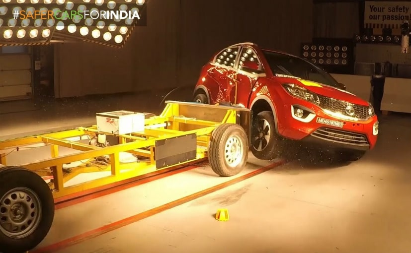 The Tata Nexon is the first ever India-made car to 5 star rating for NCAP Crash Tests