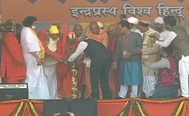VHP Rally LIVE Highlights: VHP Rally In Delhi Today In Push For Ram Temple