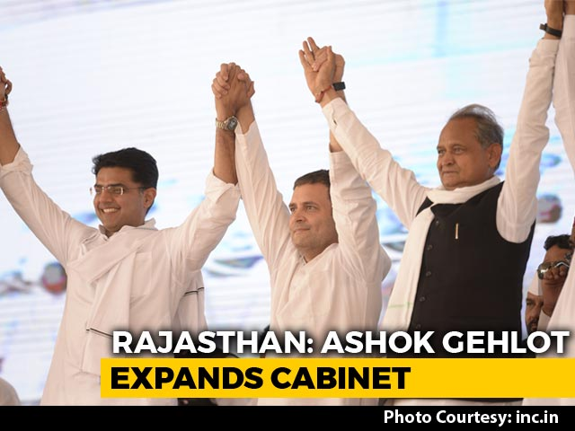 Video : Rajasthan's New 23-Member Cabinet Has 2019 Flavour. Lone Ally Gets Place