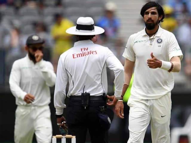 Ishant Sharma Takes A Dig At Australian Media After Being Questioned On No-Balls