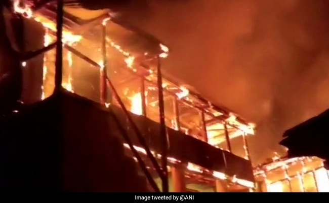 Property Worth Rs 1.5 Crore Destroyed In Fire In Shimla