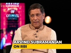 "Video: ""Would Amount To Raiding RBI"": Arvind Subramanian On Using Up Surplus"