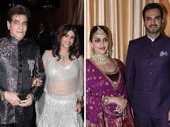 Isha Ambani And Anand Piramal's Wedding Reception: Jeetendra, Hema Malini, Sunny Deol, Kartik Aaryan Attend Star-Studded Party In Mumbai