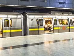 Delhi Woman, 25, Dies After She Jumps In Front Of Train At Metro Station