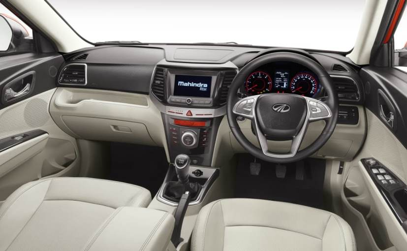 The new Mahindra XUV300 get good quality materials on the inside and an uncluttered design.