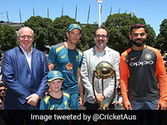 Archie Schiller Shares The Stage With Virat Kohli And Tim Paine Ahead Of Boxing Day Test - Watch