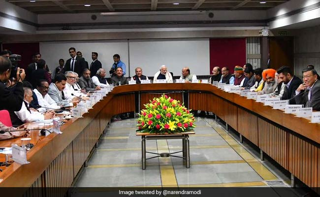 'Want Discussion' Says PM Modi Ahead Of Parliament's Winter Session