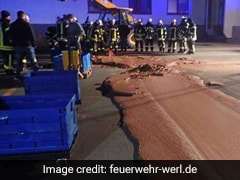 A River Of Chocolate Turns German Street Into Every Dessert-Lover's Dream