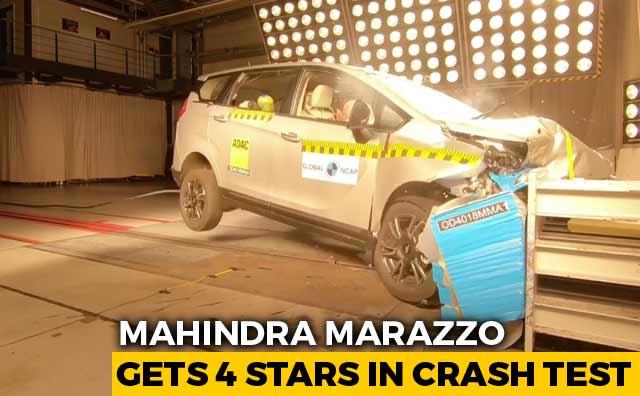 Exclusive Mahindra Marazzo Gets 4 Stars In Crash Test