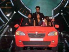 On A Scale Of '<i>Zero</i>' To 10, Shah Rukh Khan, Anushka Sharma And Katrina Kaif Are Having This Much Fun