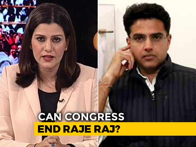 Video : Election Over, Exit Polls Positive, On Sachin Pilot's To-Do Is Bath, Bed
