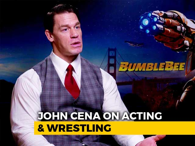 Wrestling Prepared Me For Films: John Cena