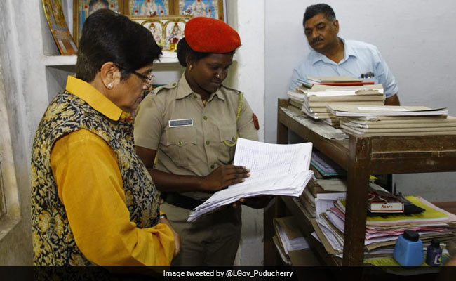 To Check Traffic Lapses, Kiran Bedi's 'Incognito' Drive, Warning To Cops