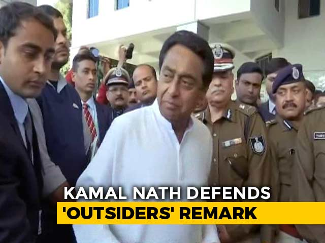 """Video : """"Happens Everywhere"""": Kamal Nath Stands By Job Policy Favouring Locals"""