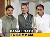 Video : Kamal Nath Bags Madhya Pradesh Job, Jyotiraditya Scindia Gets Delhi Role