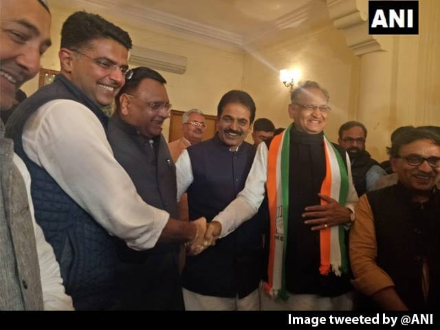 Video : For Rajasthan, Sachin Pilot Or Ashok Gehlot? Congress To Decide Post Win