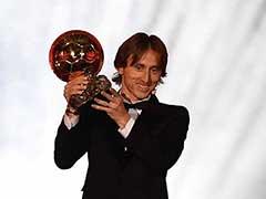Luka Modric Ends Lionel Messi, Cristiano Ronaldo Ballon d