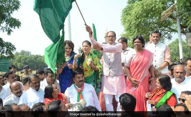 Yashodhara Raje 'Very Hopeful' Of BJP Win In Madhya Pradesh