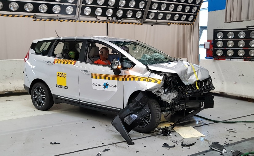 Mahindra Marazzo came with ABS, dual airbags, seatbelt reminder for driver & co-driver as standard