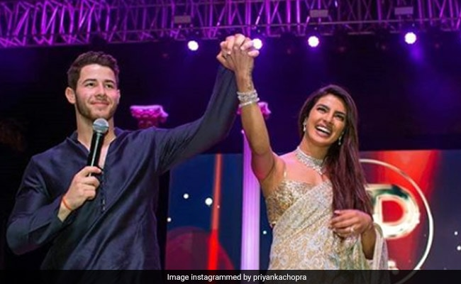 Priyanka Chopra and Nick Jonas,sangeet