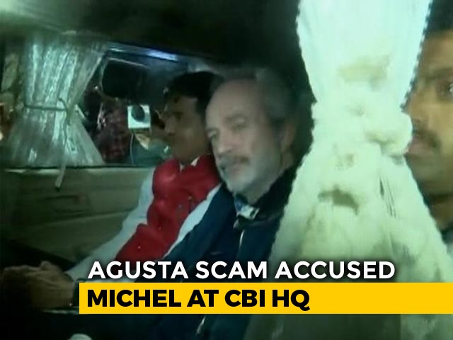 Video : VVIP Chopper Case Accused Christian Michel Brought To Delhi
