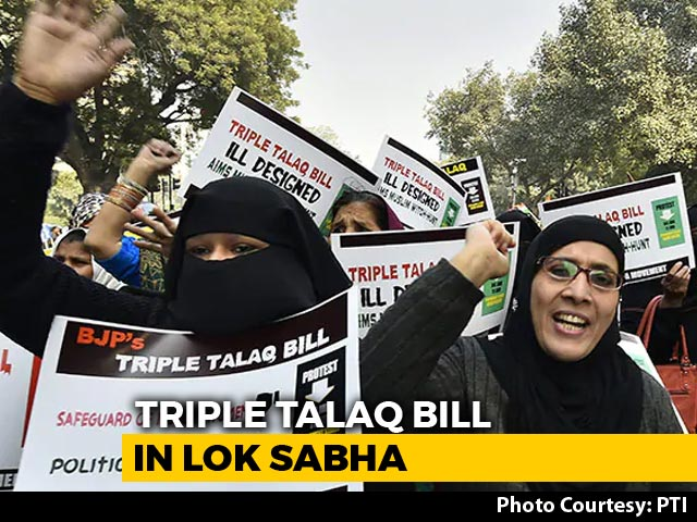 Video : Triple <i>Talaq</i> Bill To Be Taken Up By Lok Sabha After Tweaks
